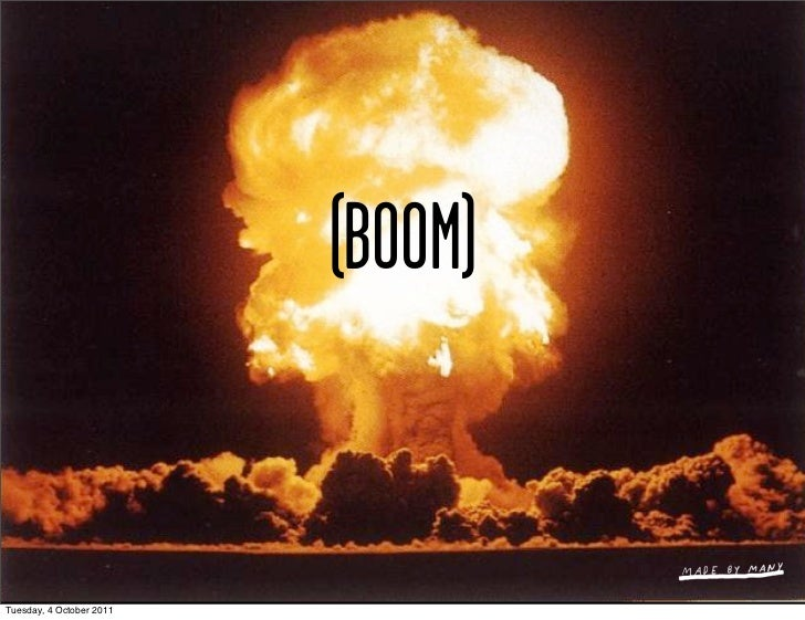(BOOM)Tuesday, 4 October 2011