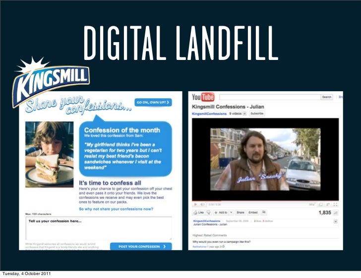 DIGITAL LANDFILLTuesday, 4 October 2011