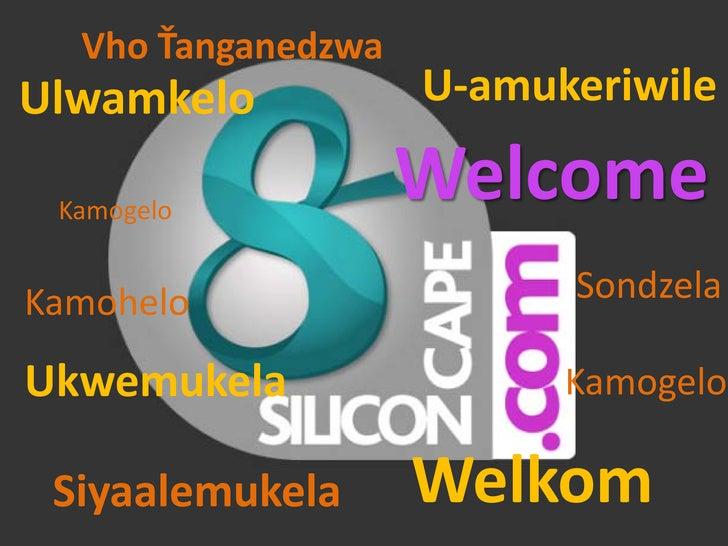 Vho Ťanganedzwa Ulwamkelo           U-amukeriwile   Kamogelo                     Welcome Kamohelo                  Sondzel...