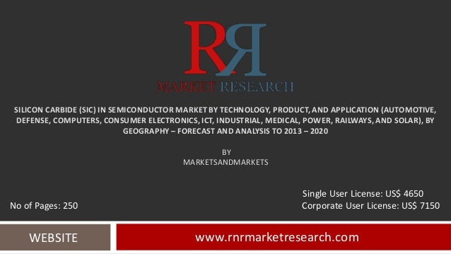 SILICON CARBIDE (SIC) IN SEMICONDUCTOR MARKET BY TECHNOLOGY, PRODUCT, AND APPLICATION (AUTOMOTIVE, DEFENSE, COMPUTERS, CON...