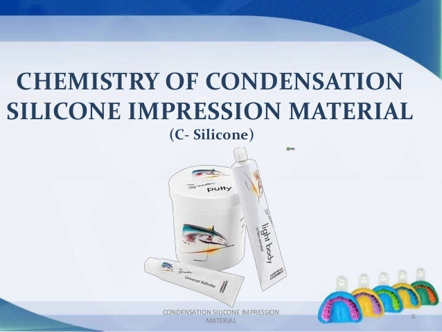 Silicone based impression materials