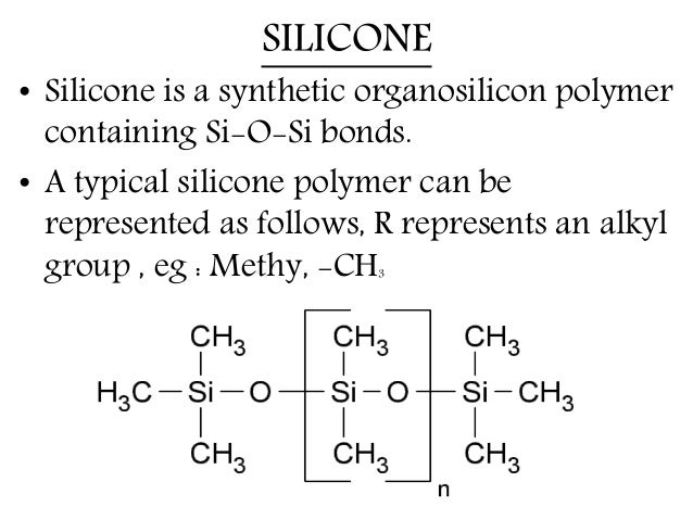 Silicon, Silicone and silicates