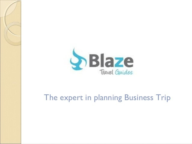 The expert in planning Business Trip