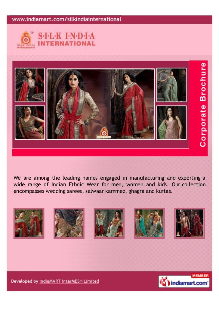 We are among the leading names engaged in manufacturing and exporting awide range of Indian Ethnic Wear for men, women and...
