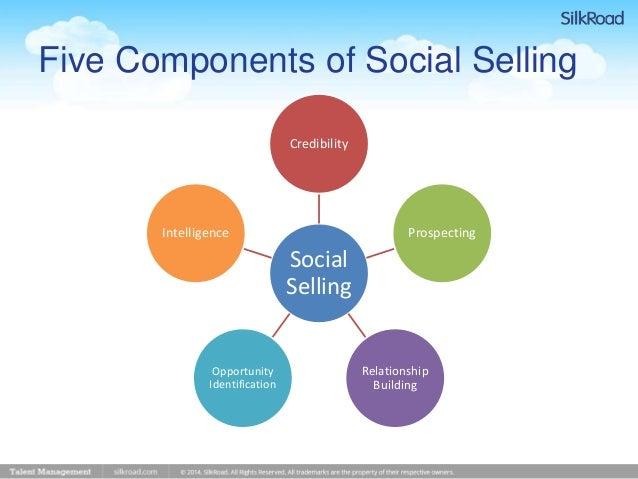 making a sales presentation
