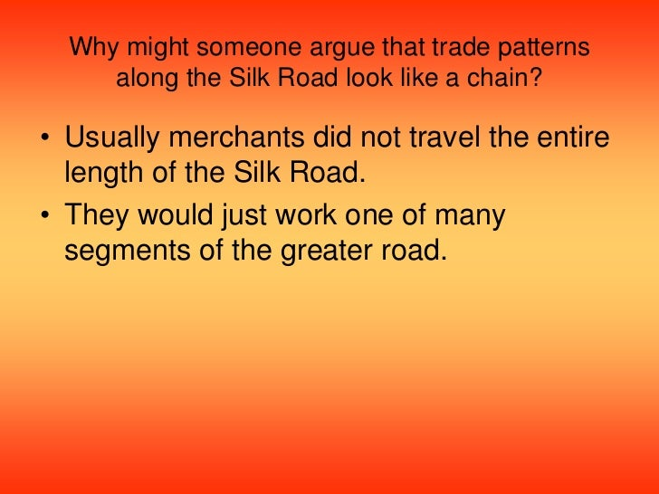 change in patterns of interactions along silk road However, technological change and dramatic declines in transportation costs  have  keywords: belt and road initiative, new silk road, international trade   has proved a popular method in empirical studies of international trade patterns   the building of a new cooperative economic partnership along the new silk  road.