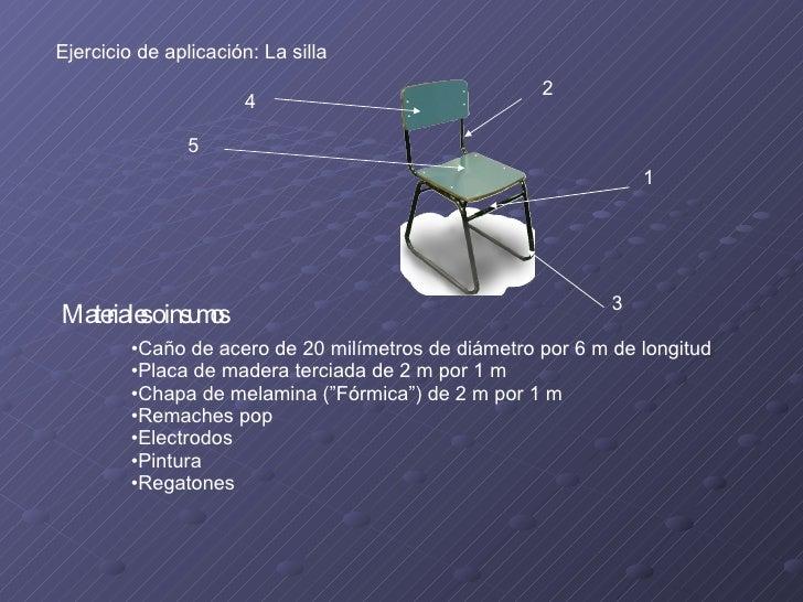 <ul><li>Caño de acero de 20 milímetros de diámetro por 6 m de longitud </li></ul><ul><li>Placa de madera terciada de 2 m p...