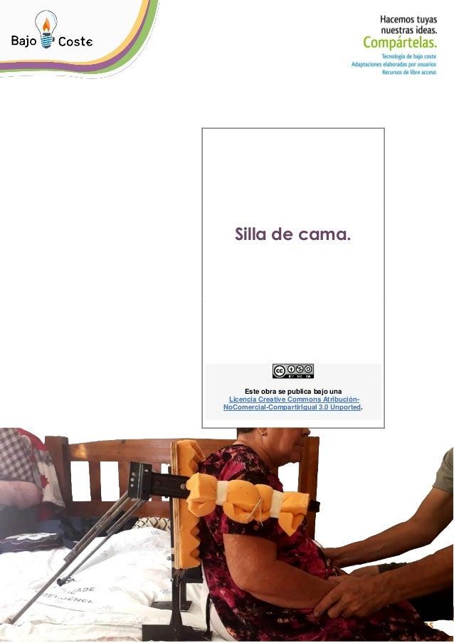 P�gina 1 de 6 P�gina 1 de 6 Silla de cama. Este obra se publica bajo una Licencia Creative Commons Atribuci�n- NoComercial...