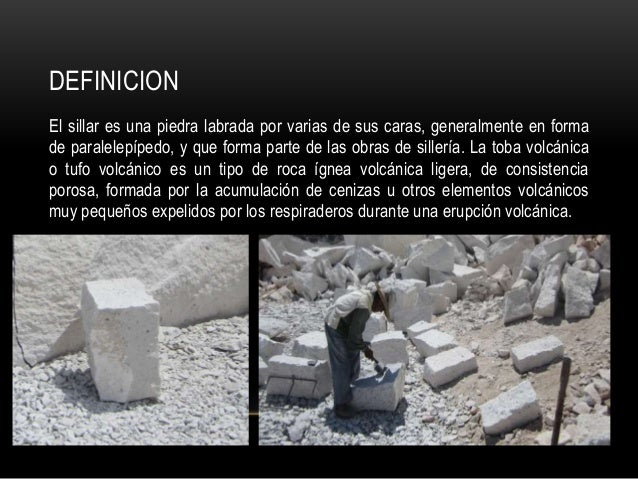 Sillar for Que es arquitectura definicion