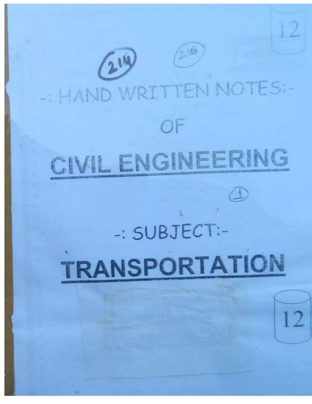 Civil 12.transportation