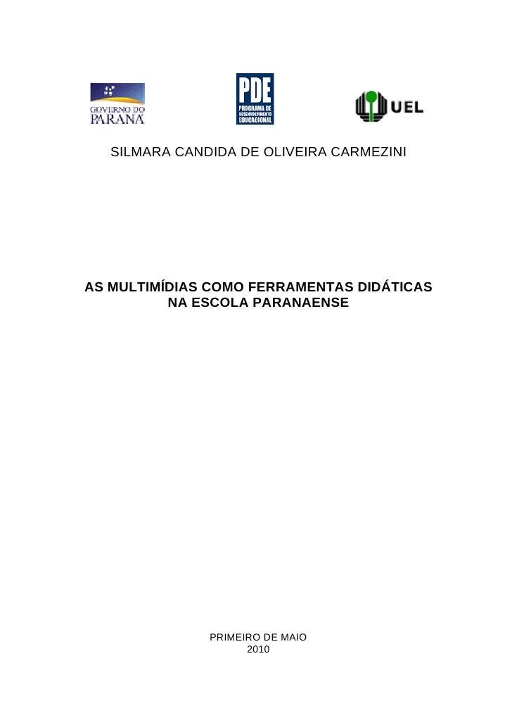 Silmara candida projeto_pde
