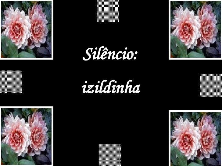 Silêncio: izildinha