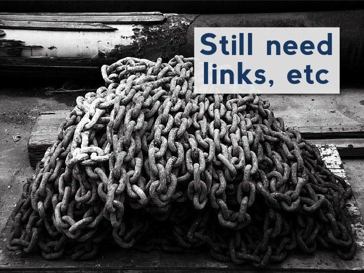 Still needlinks, etc