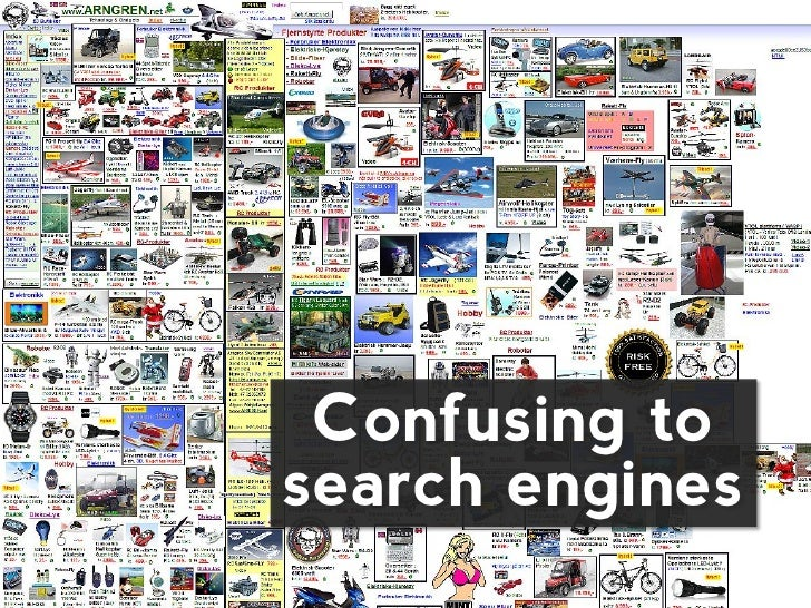 Confusing tosearch engines