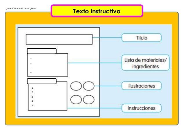 JESSICA MILAGROS ORTIZ QUISPE Texto instructivo 1. 2. 3. 4. 5.      