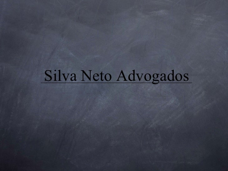 Silva Neto Advogados