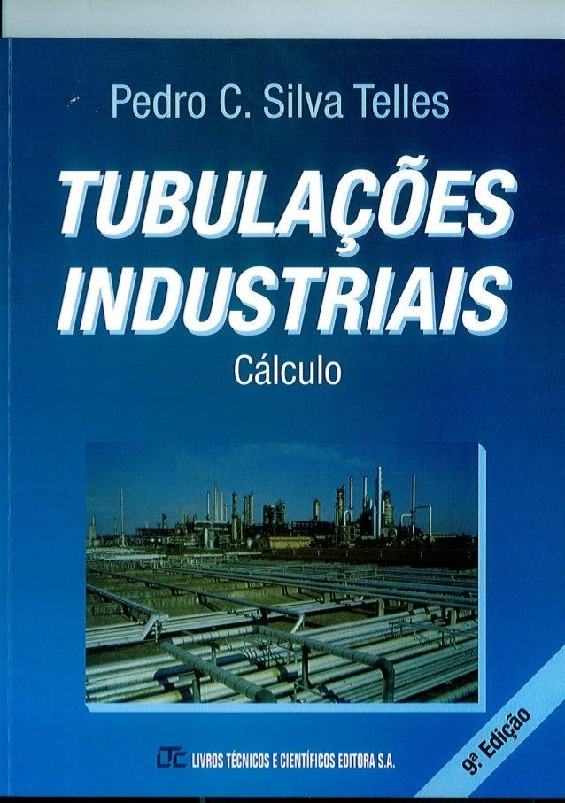 Silva telles   tubulações industriais - cálculo