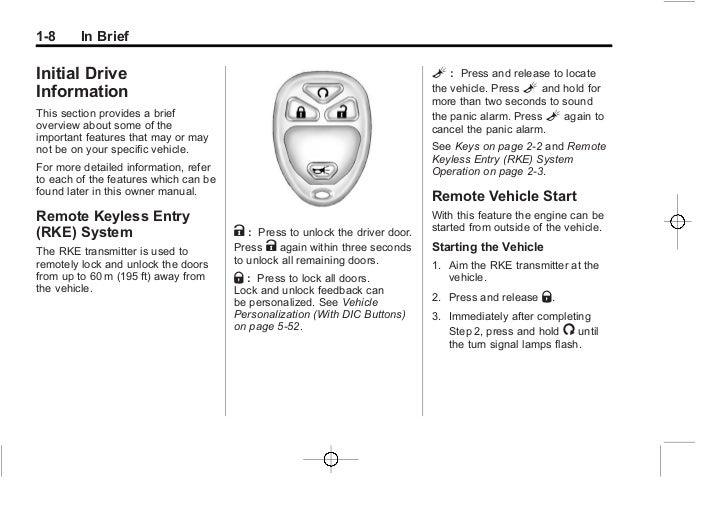 2012 chevrolet silverado owner s manual rh slideshare net Chevrolet Avalanche Chevrolet Impala