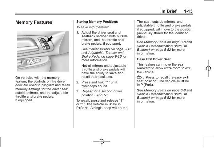 2012 silverado owners manual