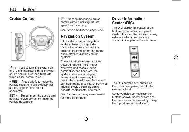 2012 Gm Silverado Navigation System Manual