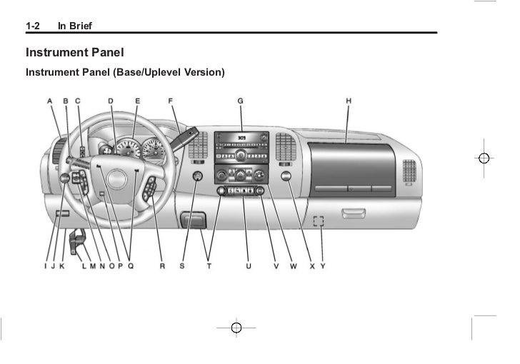 2012 silverado owners manual pdf