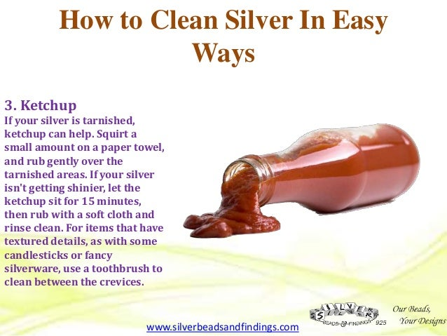 how to clean silver tricks that really works by silver beads findin. Black Bedroom Furniture Sets. Home Design Ideas