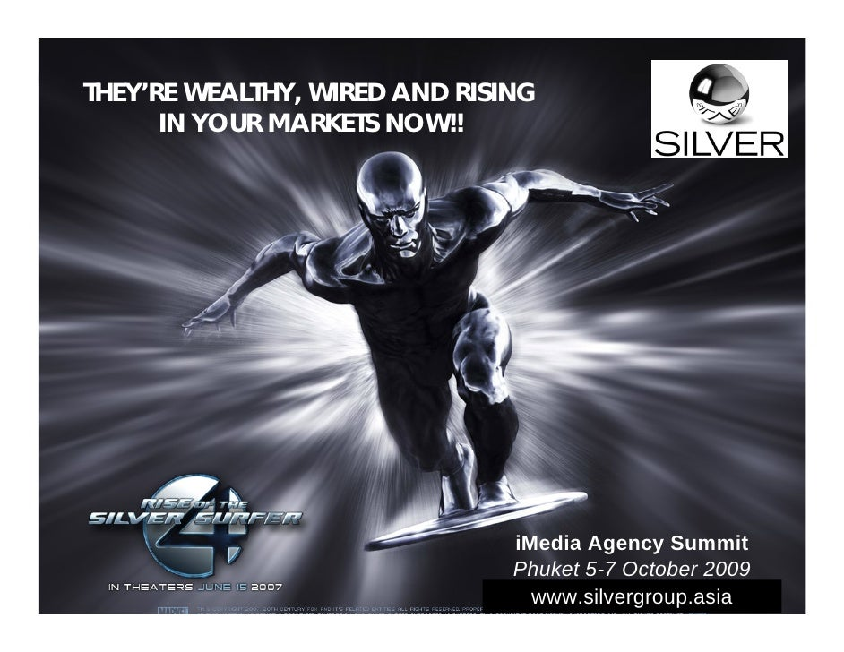 THEY'RE WEALTHY, WIRED AND RISING       IN YOUR MARKETS NOW!!                                    iMedia Agency Summit     ...