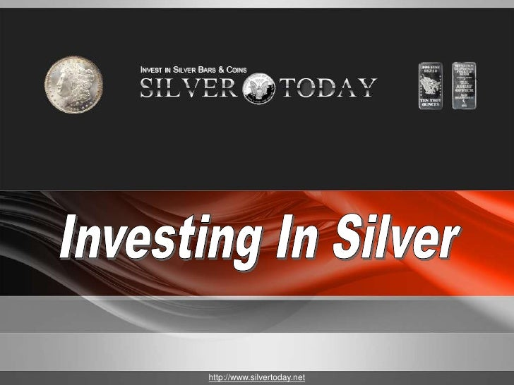 1Company Proprietary and Confidential   http://www.silvertoday.net   Copyright Info Goes Here Just Like This