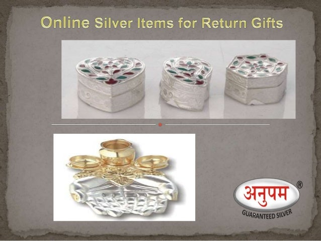 Wholesale silver gift items