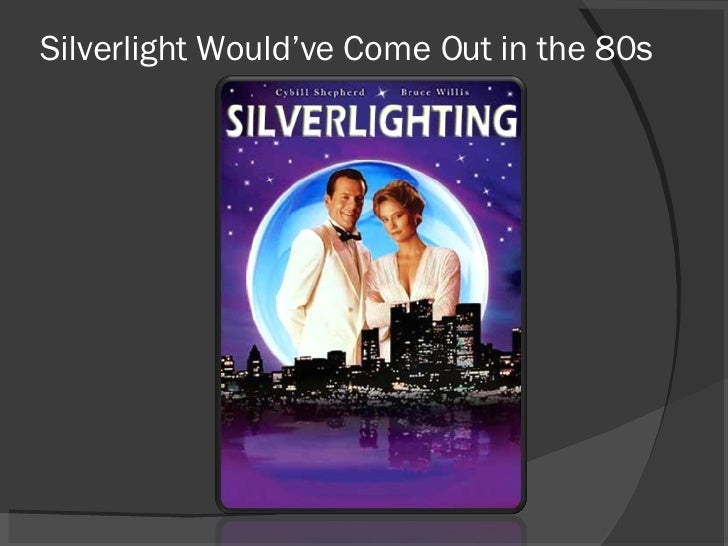 Silverlight Would've Come Out in the 80s