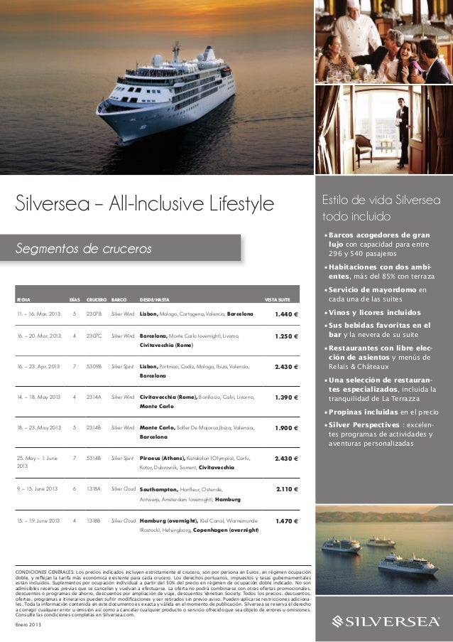Silversea – All-Inclusive Lifestyle                                                                                       ...