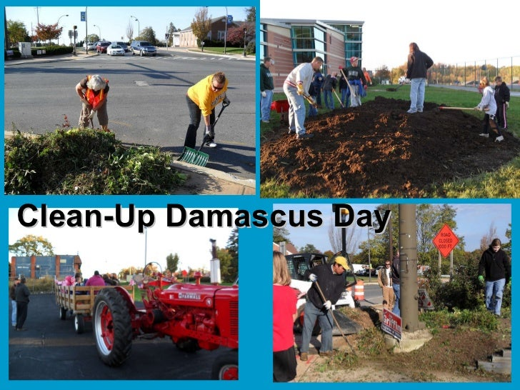 Clean-Up Damascus Day