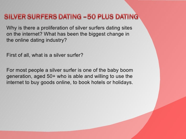 Silver surfers dating