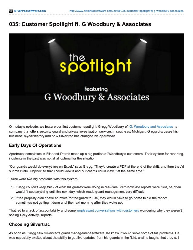 silvertracsoftware.com http://www.silvertracsoftware.com/extra/035-customer-spotlight-ft-g-woodbury-associates 035: Custom...