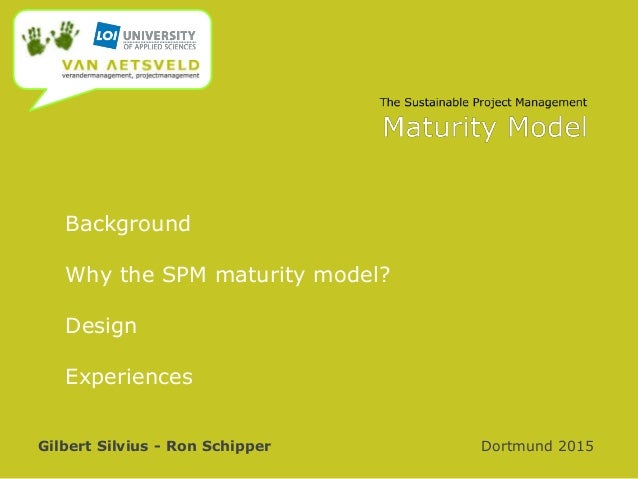 The Sustainable Project Management Maturity Model Slide 2
