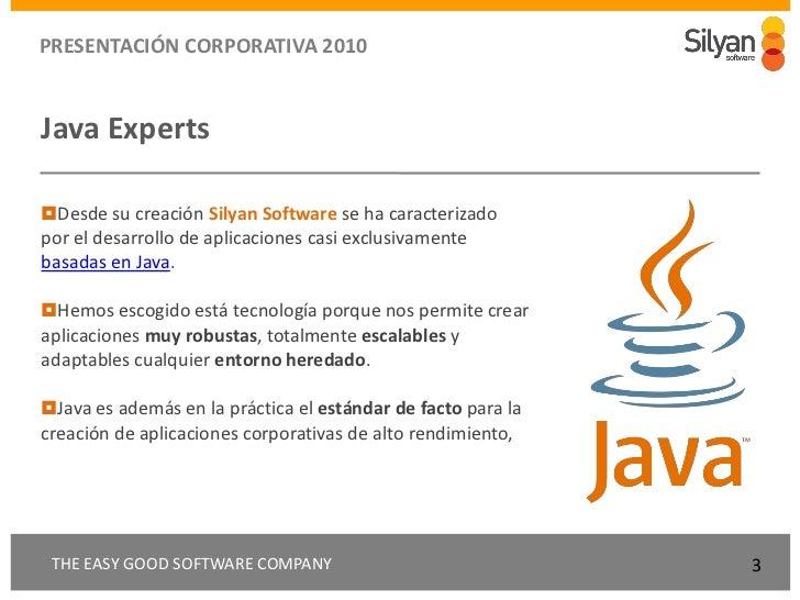 Silyan presentacion corporativa-diciembre10 Slide 3