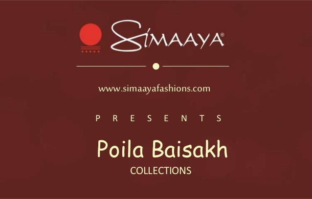 2160767dff Poila Baisakh Special Sarees From Simaaya Fashions Online