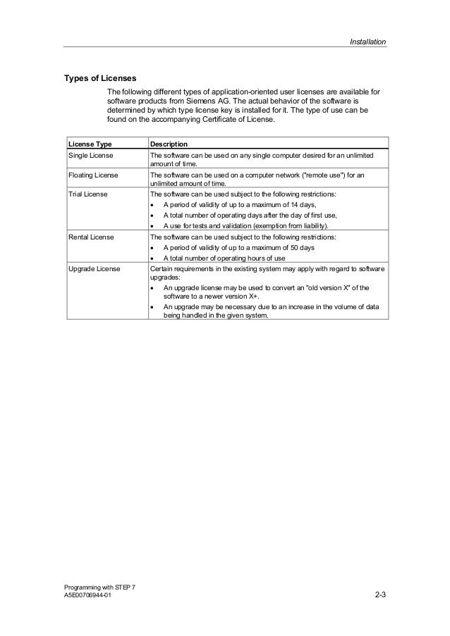 siemens plc training manuals free download