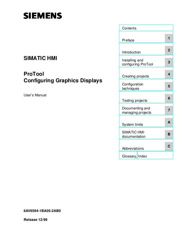 simatic protool manual