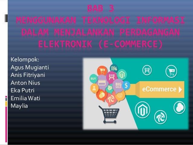 Strategi Memaksimalkan Bisnis e-Commerce