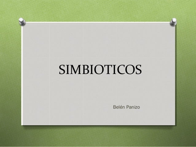 SIMBIOTICOS Belén Panizo