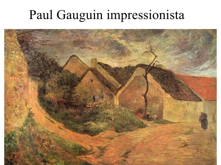Paul Gauguin impressionista