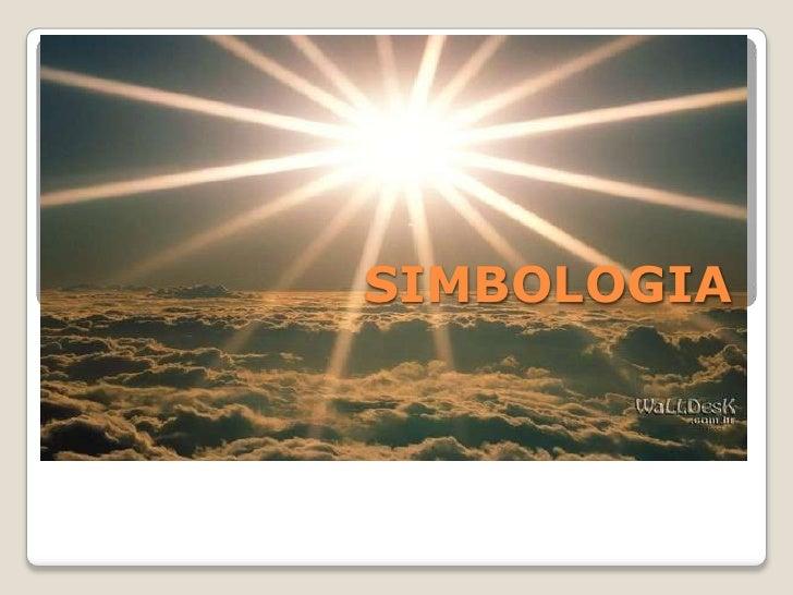SIMBOLOGIA<br />