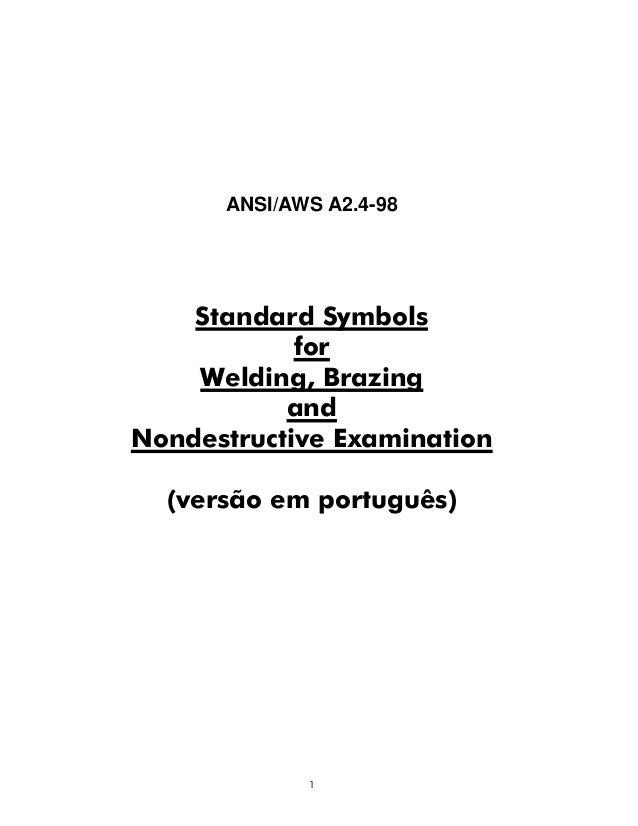ANSI/AWS A2.4-98