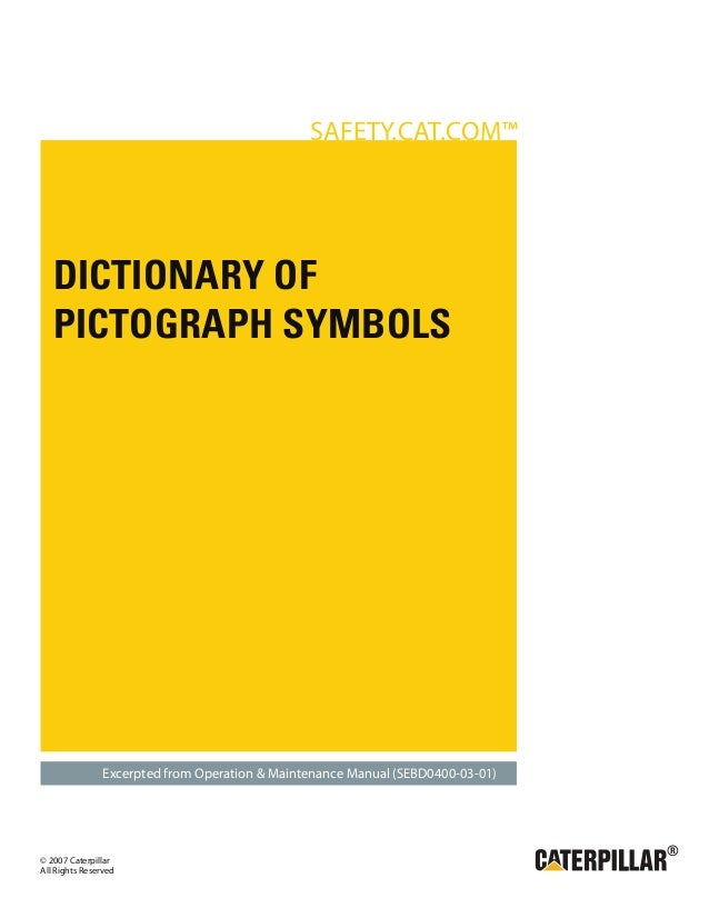 Simbologias Caterpillar