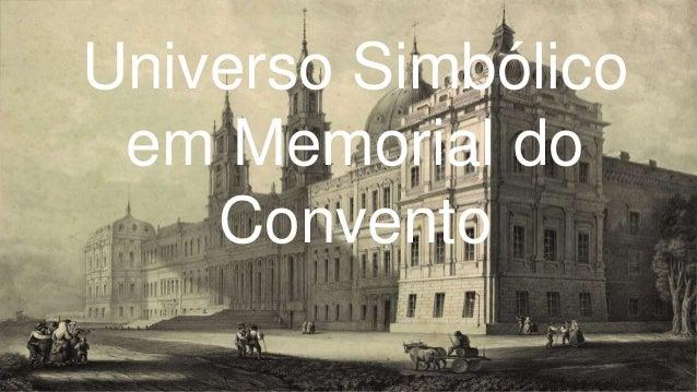 Universo Simbólico em Memorial do Convento
