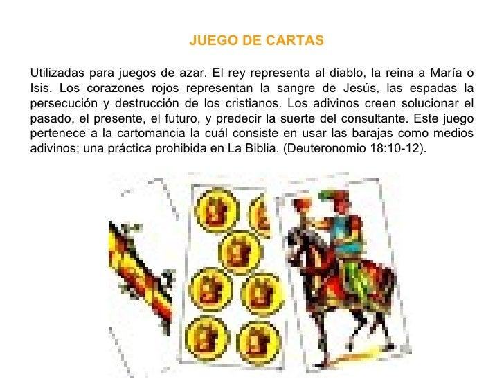 Utilizadas para juegos de azar. El rey representa al diablo, la reina a María o Isis. Los corazones rojos representan la s...