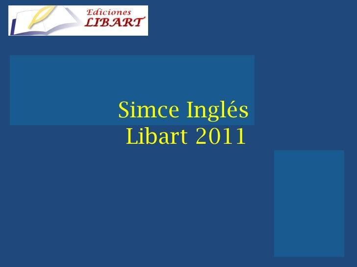 Simce Inglés  Libart 2011
