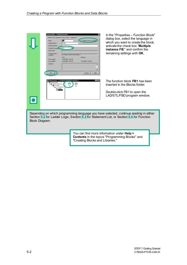 simens plc training simatic working with step 7 rh slideshare net Control Block Diagram Architecture Block Diagram