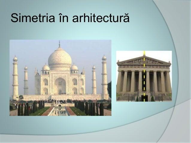 Simetria în arhitectură